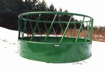 Heavy duty bale feeder